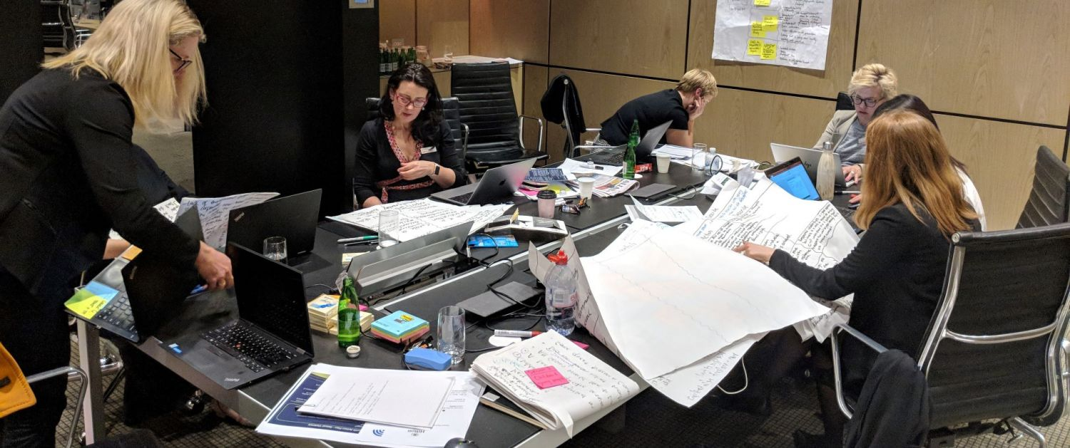 ThinkPlace designers at the COAG summit