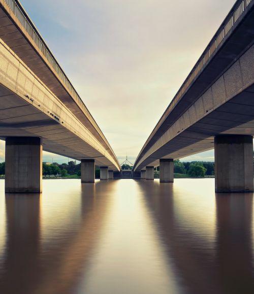 Bridges in Canberra