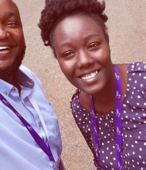 Michael Ngigi and Sarah Mpapuluu